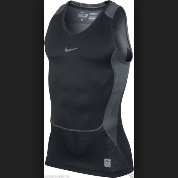 Arena Térmico acoplador  to15d9c nike mens pro fitted compression tank top ...